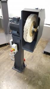 Einseitige Poliermaschine