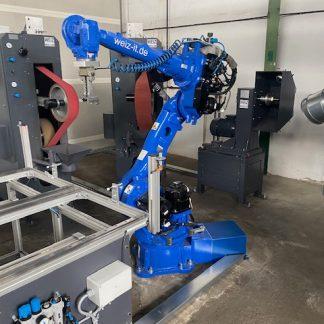 Roboter-Schleifanlage