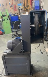 Poliermaschine Abklärstation